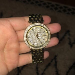 Michael Kors Gold Tone Watch with Box